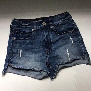Express Jean High Rise Shorts Sz. 0